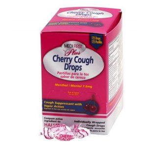 Medi First Plus Cherry Cough Drops