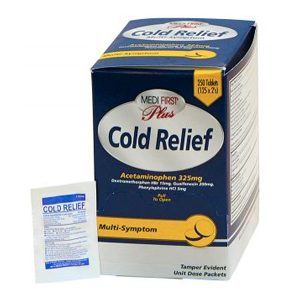 Medi-First Plus Cold Relief
