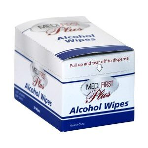 Medi First Plus Alcohol Wipes