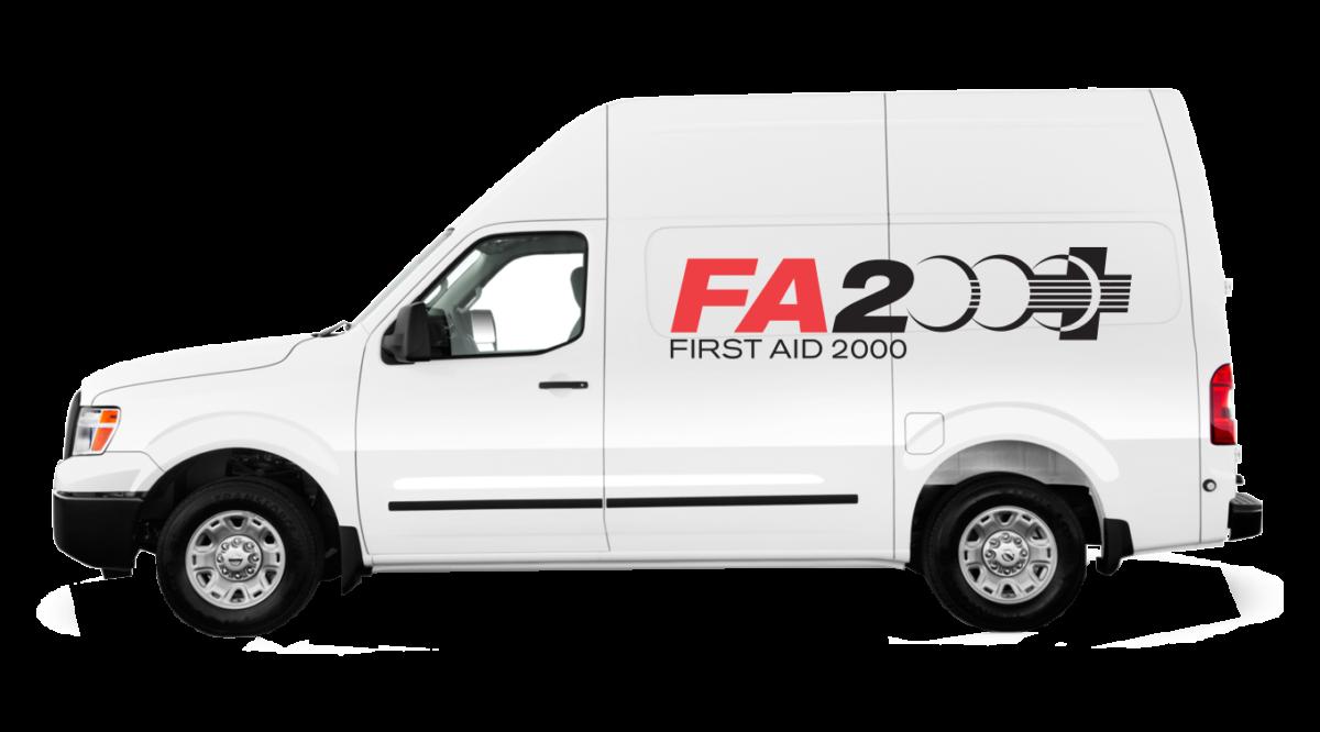 First Aid 2000 van